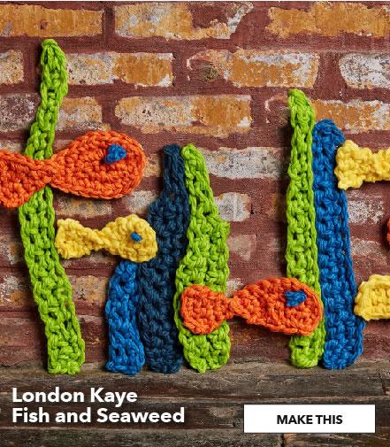 London Kaye Fish and Seaweed. Make This.