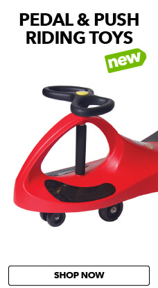 Pedal & Push Riding toys have arrived at JOANN.