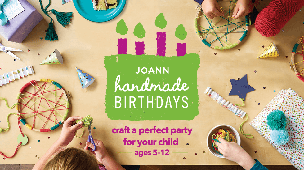 Handmade Birthday Parties Craft the Perfect Party for Your Child