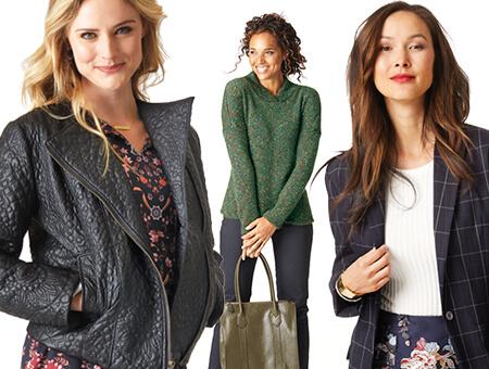 Women in Sweaters.