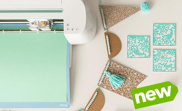 Our best-selling Cricut cutting machine now comes in a JOANN-exclusive Mint color!. Buy Now.