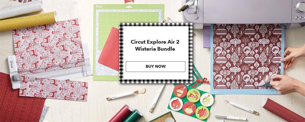 249.99 each Cricut Explore Air 2 Wisteria Bundle. Shop Now.