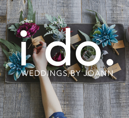 Personalize every detail of your wedding with products, project ideas & finishing touches for vows & wows, only at JOANN