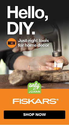 New Fiskars DIY home decor tools have arrived, exclusively at JOANN