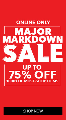 ONLINE ONLY - Major Markdown SALE! Up to 75% OFF 1000s of Must Have Items!