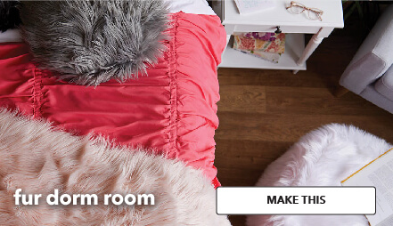 Fur Dorm Room. Make This.
