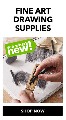 New fine art drawing supplies are here at JOANN