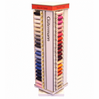 Gutermann 80 Spool Polyester Thread Spinning Tower.