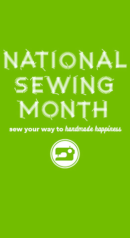 September is National Sewing Month, find great fabric & sewing deals all month long at JOANN.