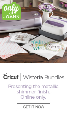Online Only! Cricut Wisteria Bundles Only at JOANN
