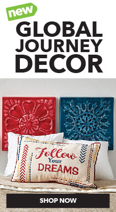 Hudson 43 Global Journey summer decor is available exclusively at JOANN