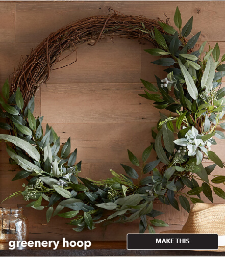 How To Make A Greenery Hoop. Make This.