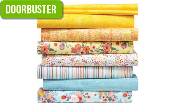 DOORBUSTER! Up to 60% off Entire Stock Quilt Cotton.