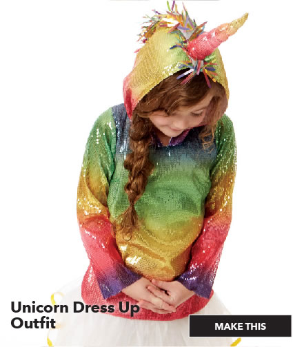 Unicorn Dress Up Outfit. Make This.