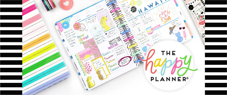 The Happy Planner - Journals, Notes, Stickers & Accessories