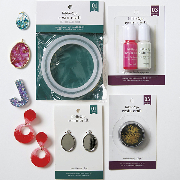 image of hildie & jo resin jewelry