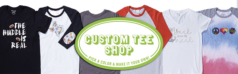 25de69b4e JOANN has a wide variety of comfortable t-shirts, great for fabric crafting  custom