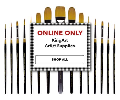 KingArt Artist Supplies. Shop Now.