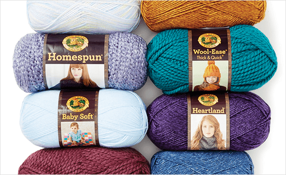 25% Off ENTIRE STOCK Lion Brand Yarn. Shop Now.