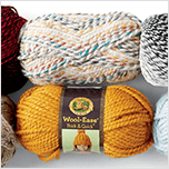$6.99 each Lion Brand® Scarfie and Wool Ease® Thick & Quick® Yarn. Shop Now.