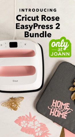 The exclusive New Cricut Rose Easy Press has arrived at JOANN.