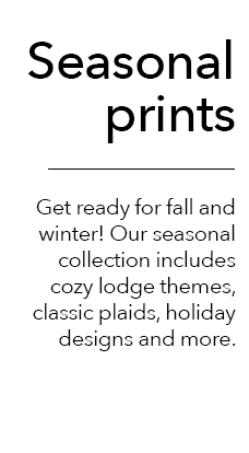 JOANN has the perfect seasonal printed fleece for your fall and winter projects.