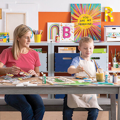 image of kids canvas gallery