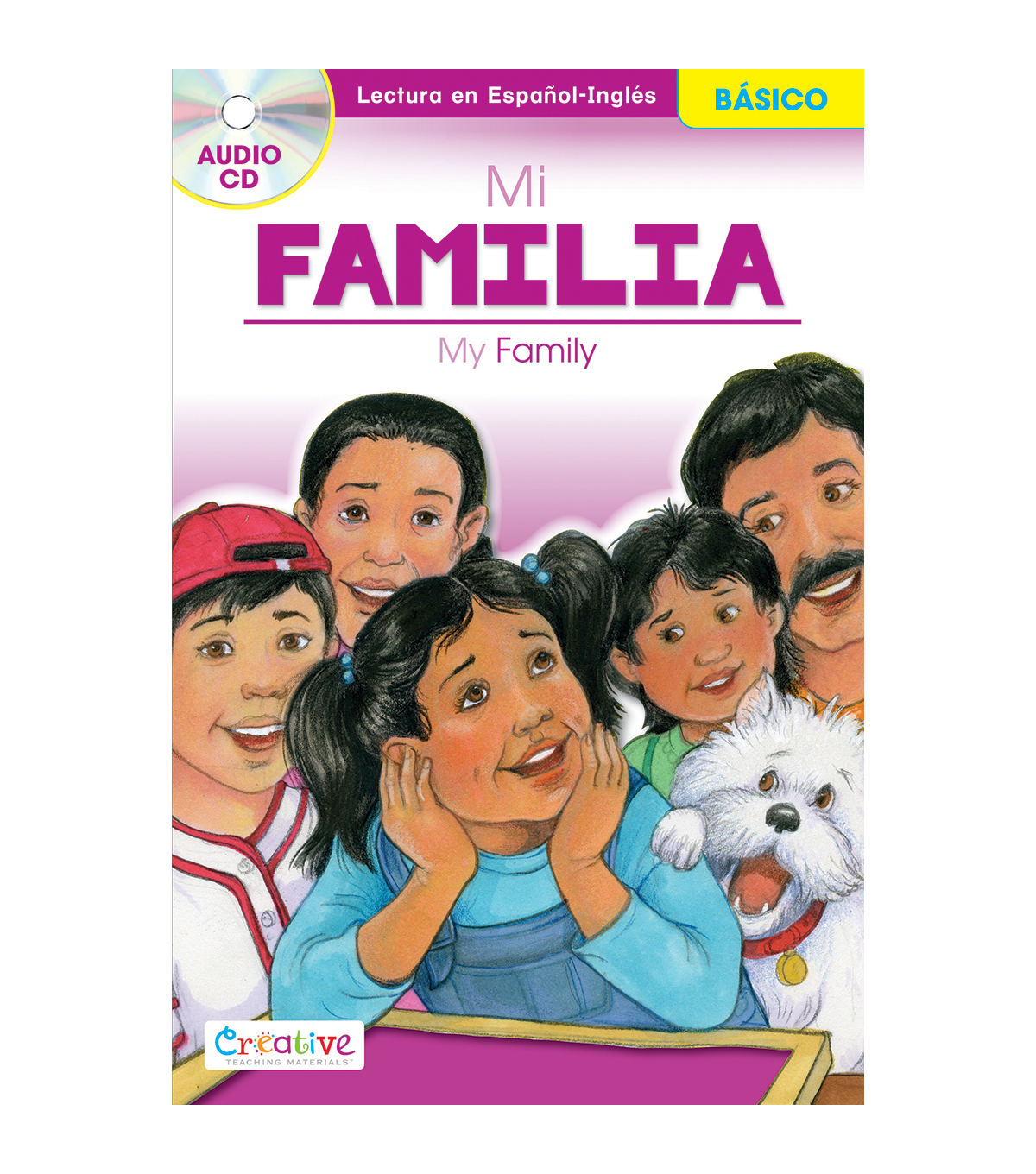 Pbs Publishing Spanish-English Book With CD-My Family