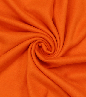 Blizzard Fleece Fabric -Solids, Burnt Orange