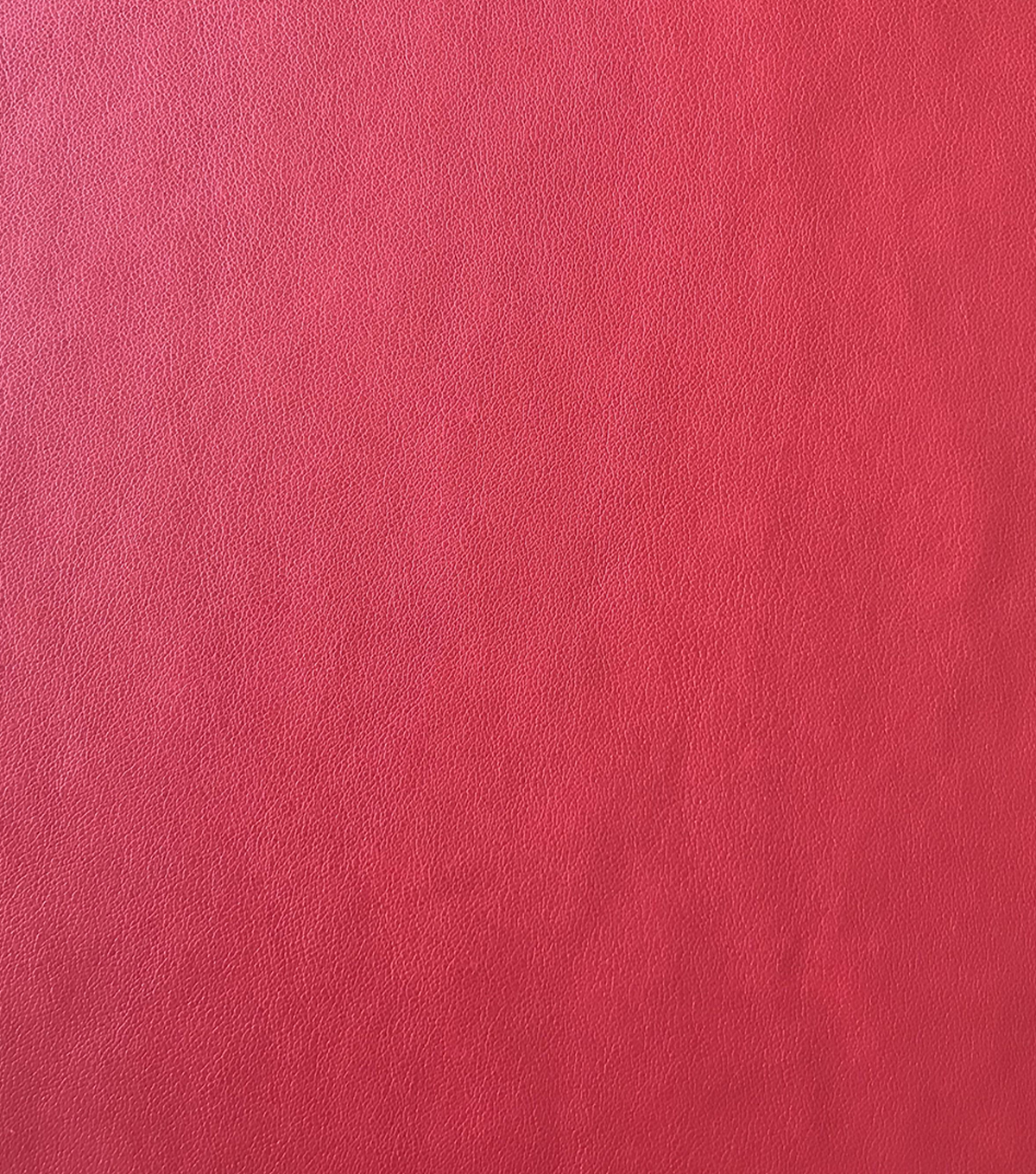 Holiday Shine Suede Back Faux Leather Fabric 56\u0022-Red