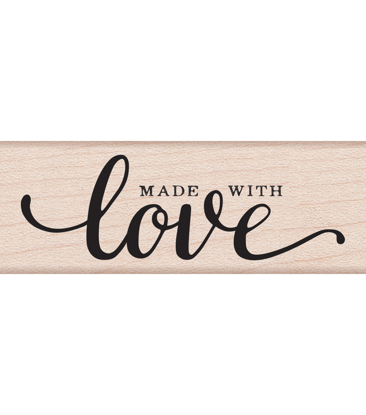 Hero Arts Mounted Rubber Stamp-Made With Love Message