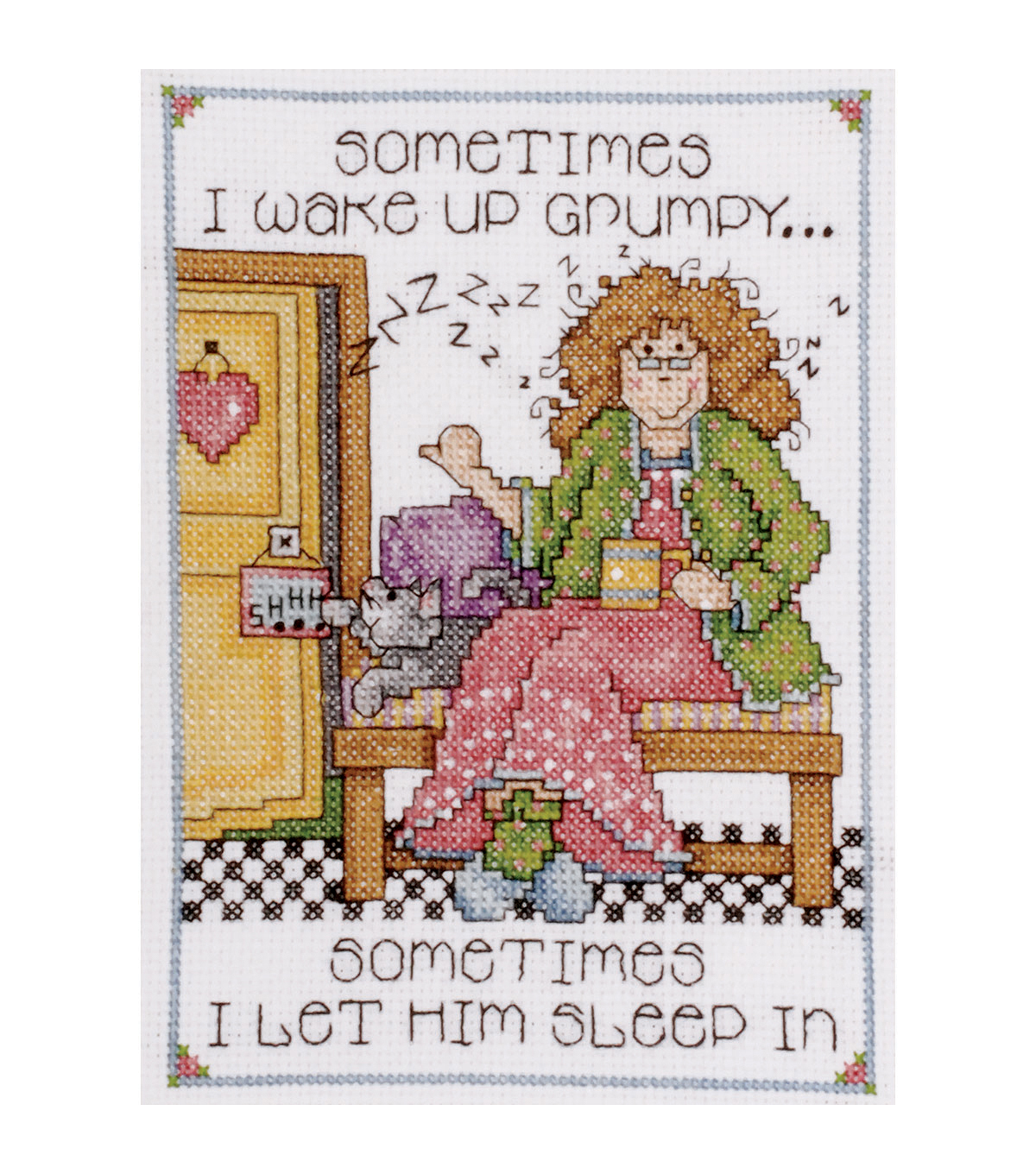 Design Works Grumpy counted-cross-stitch Kit