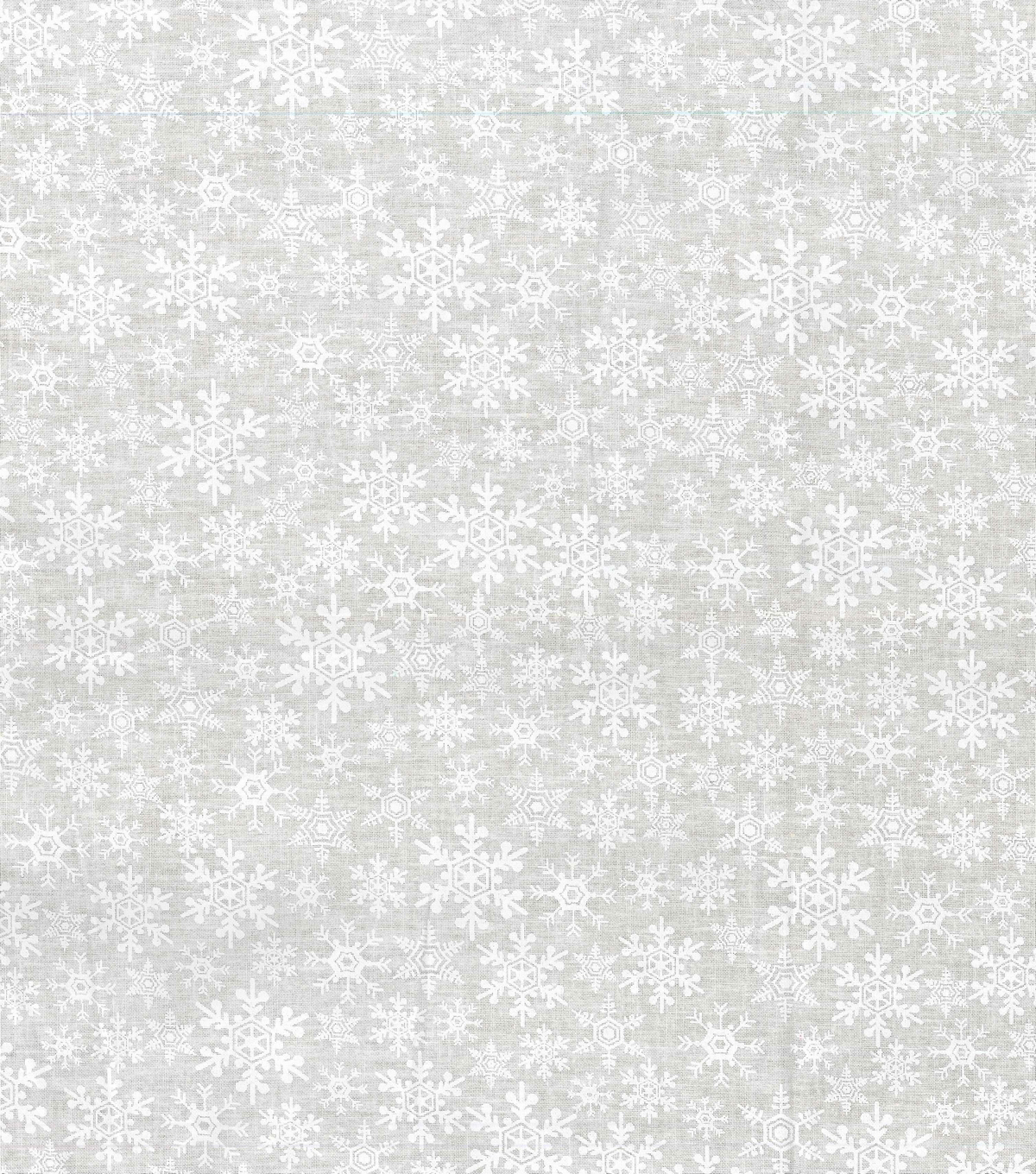 Quilter\u0027s Showcase Christmas Cotton Fabric -Tonal Flakes