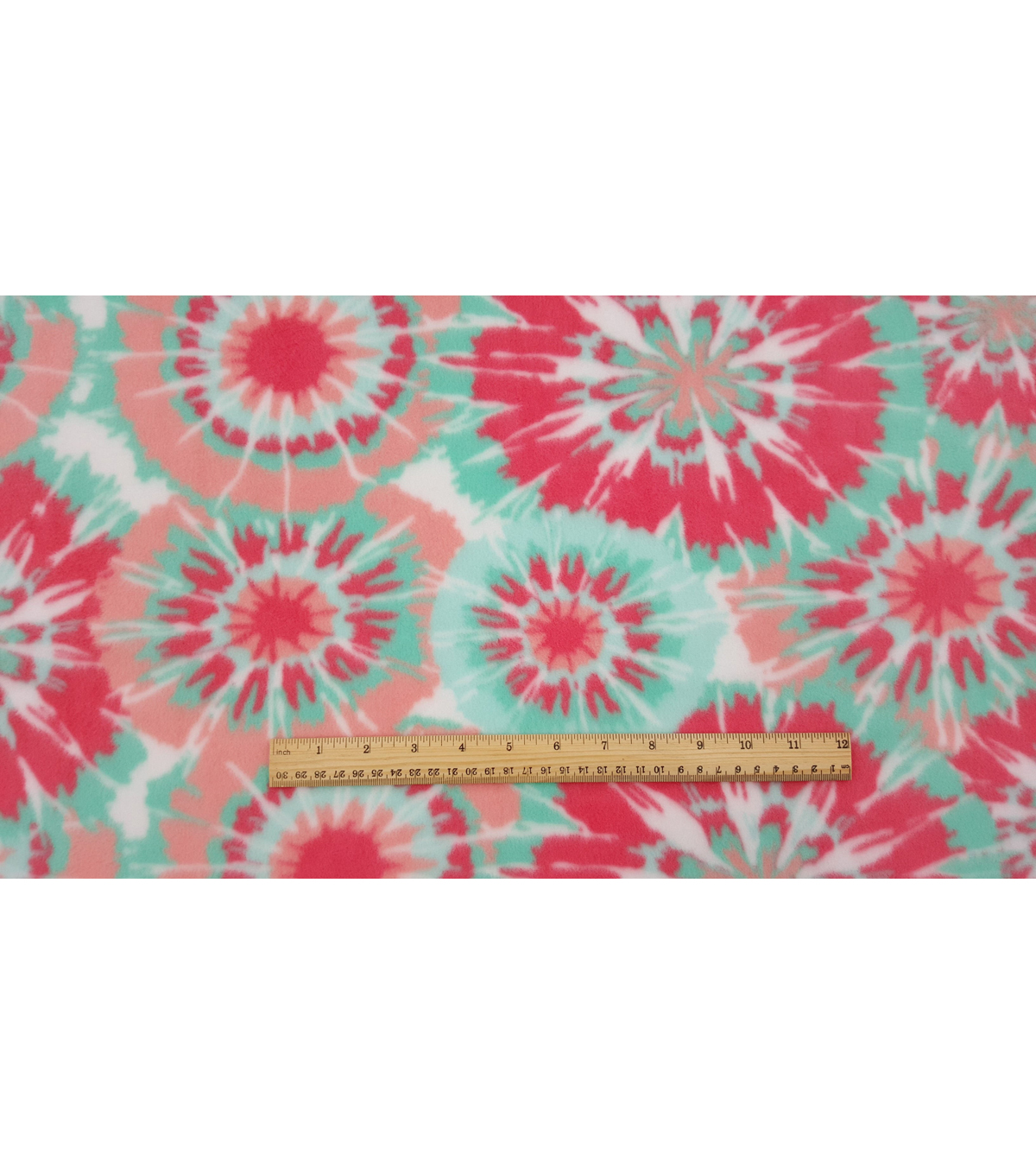 Anti-Pill Fleece Fabric 59\u0022-Isabel Tie Dye