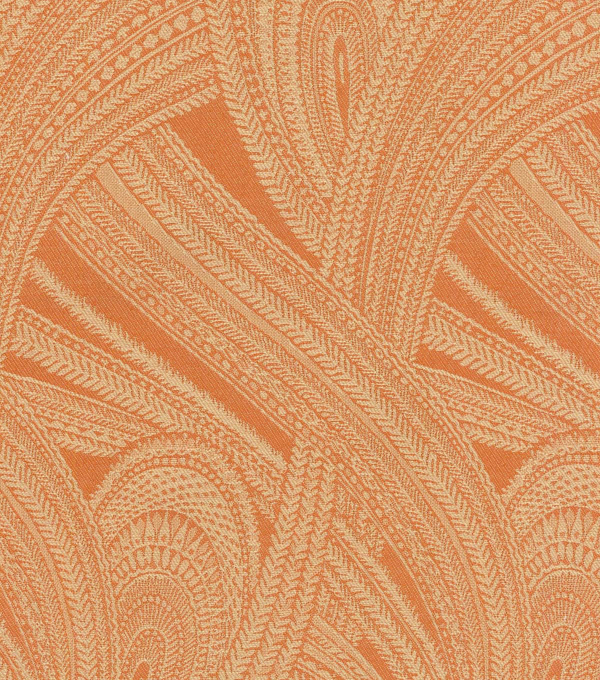 Waverly Upholstery Fabric 55\u0022-Feather Flight/Henna