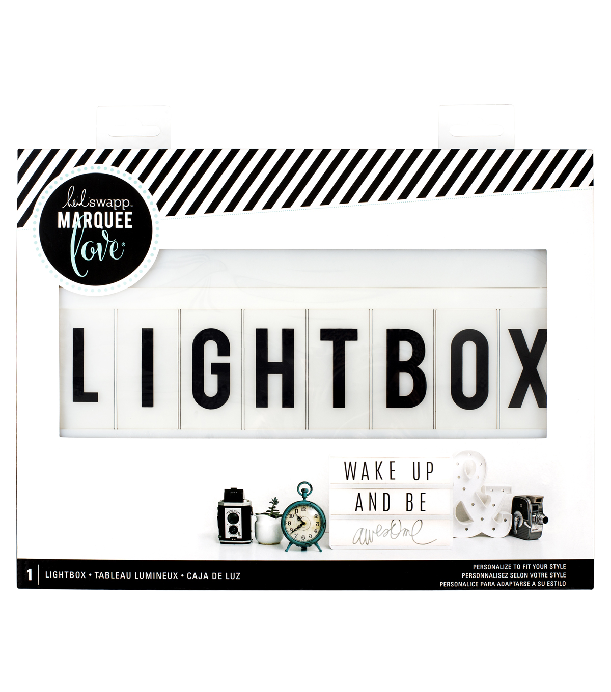 Heidi Swapp Battery Operated Lightbox-White