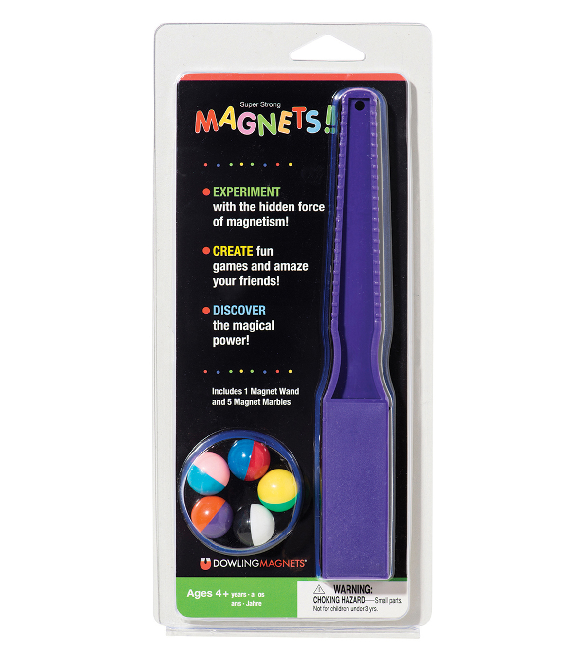 Magnet Wand And 5 Magnet Marbles Set, 6 Sets