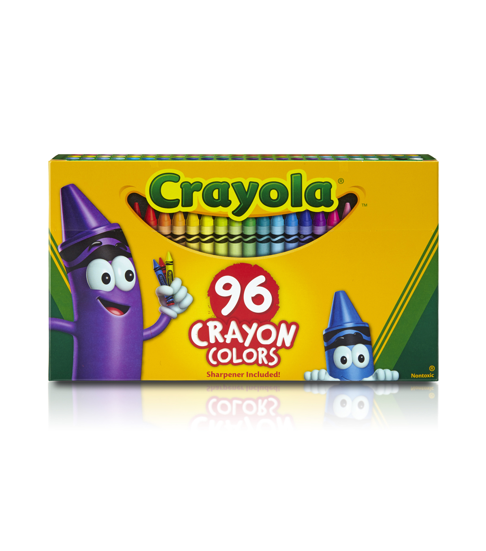 crayola big box of crayons 96 pkg joann