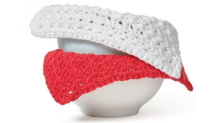 Crochet: Ridged Dishcloth
