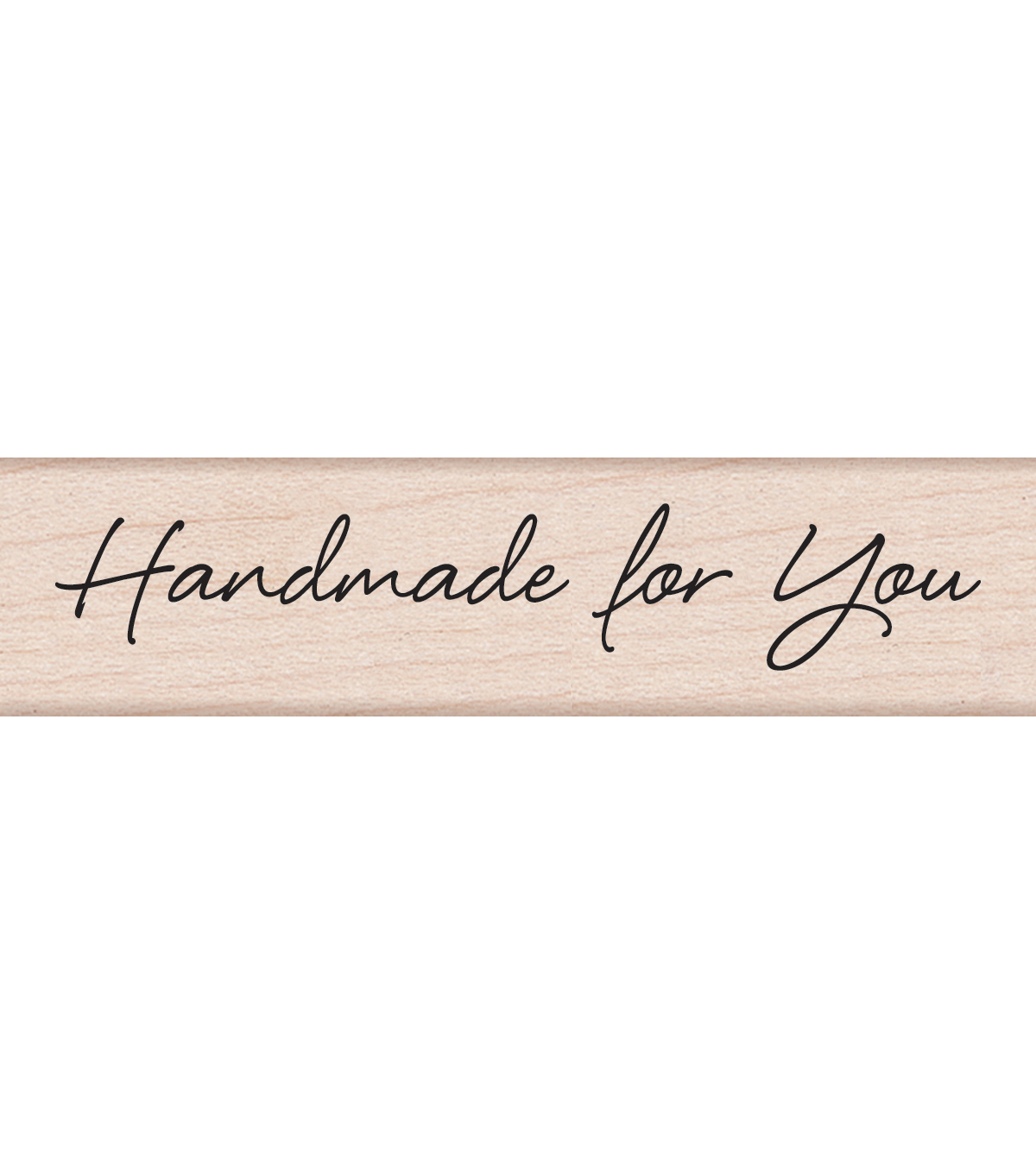 Hero Arts Mounted Rubber Stamps 3\u0022X1.5\u0022X1\u0022-Large Handmade For You