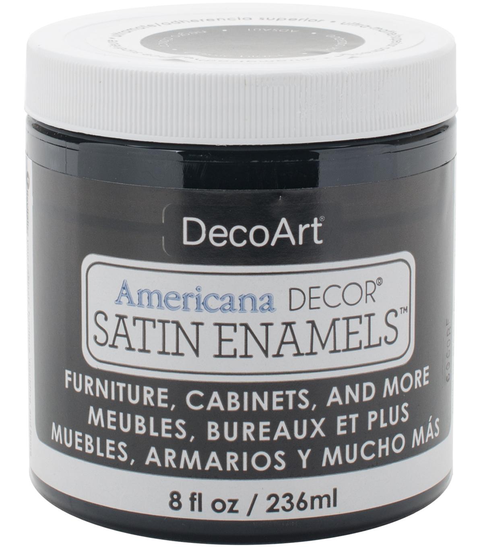 Decoart Americana Decor Satin Enamels Steel Blue Painting Supplies