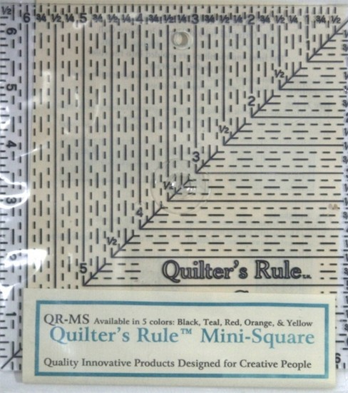 Quilter\u0027s Ruler Mini-Square 6 1/2\u0022 x 6 1/2\u0022
