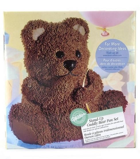 Wilton Stand Up Cuddly Bear Cake Pan Set