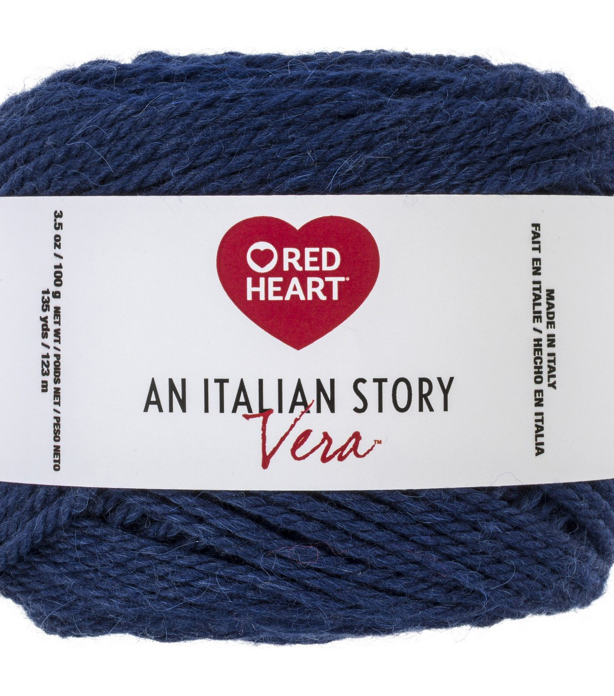 Red Heart An Italian Story Vera Yarn, Notte