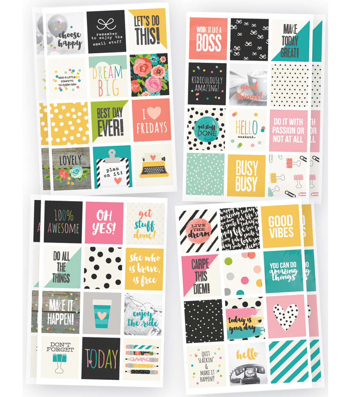 Planner Essentials Stickers-Insta Quote