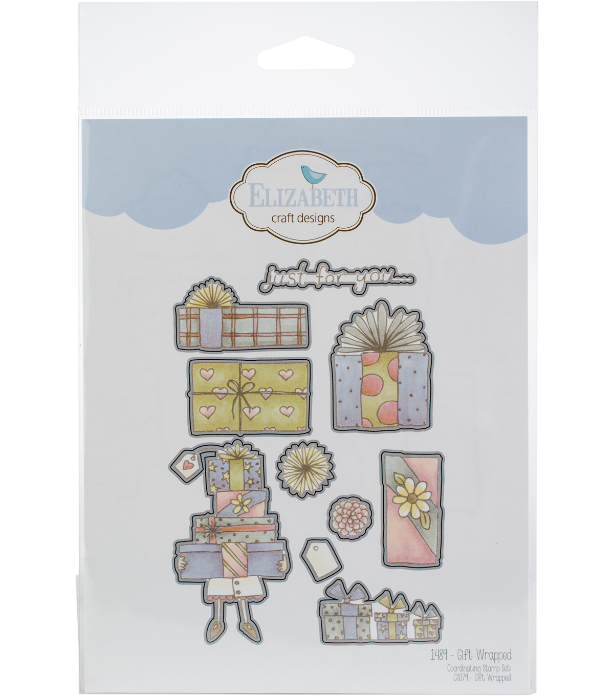 Elizabeth Craft Designs 10 pk Metal Dies-Gift Wrapped