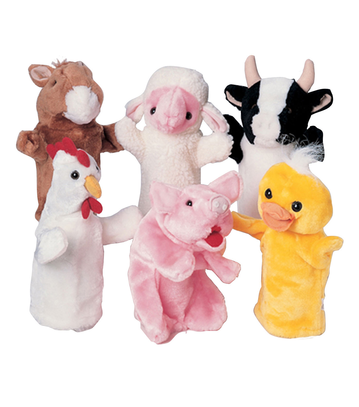 Farm Favorites Puppets, Set of 6