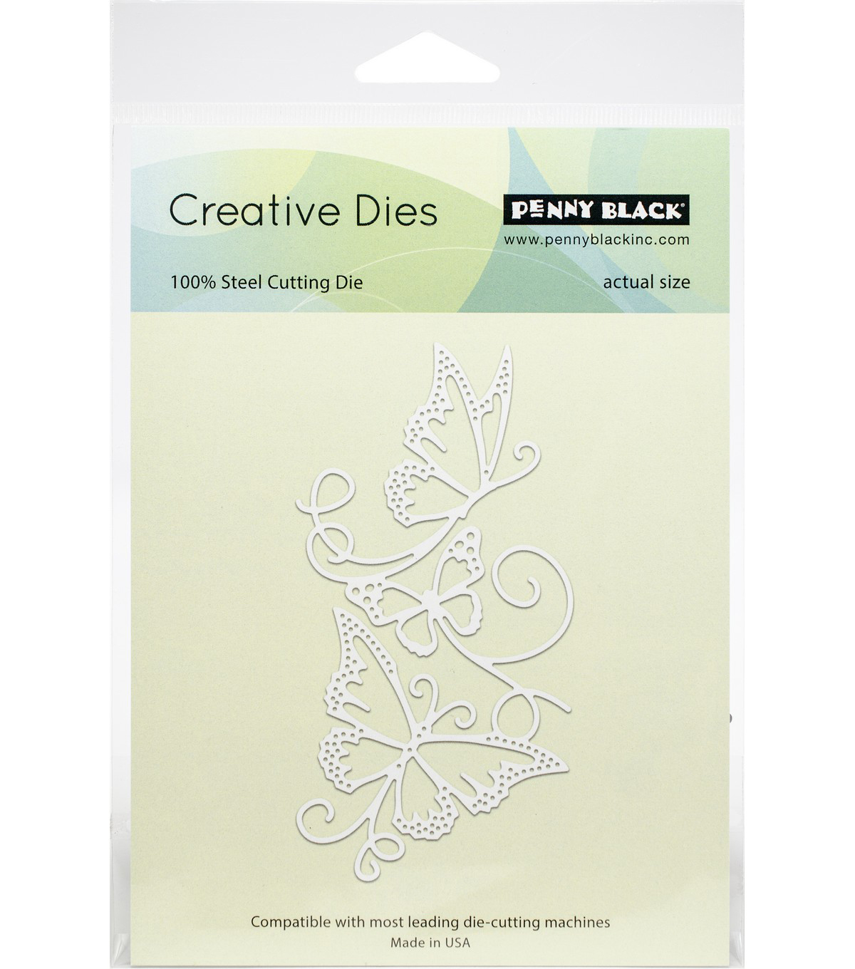 Penny Black Creative Dies-Flowing Butterflies