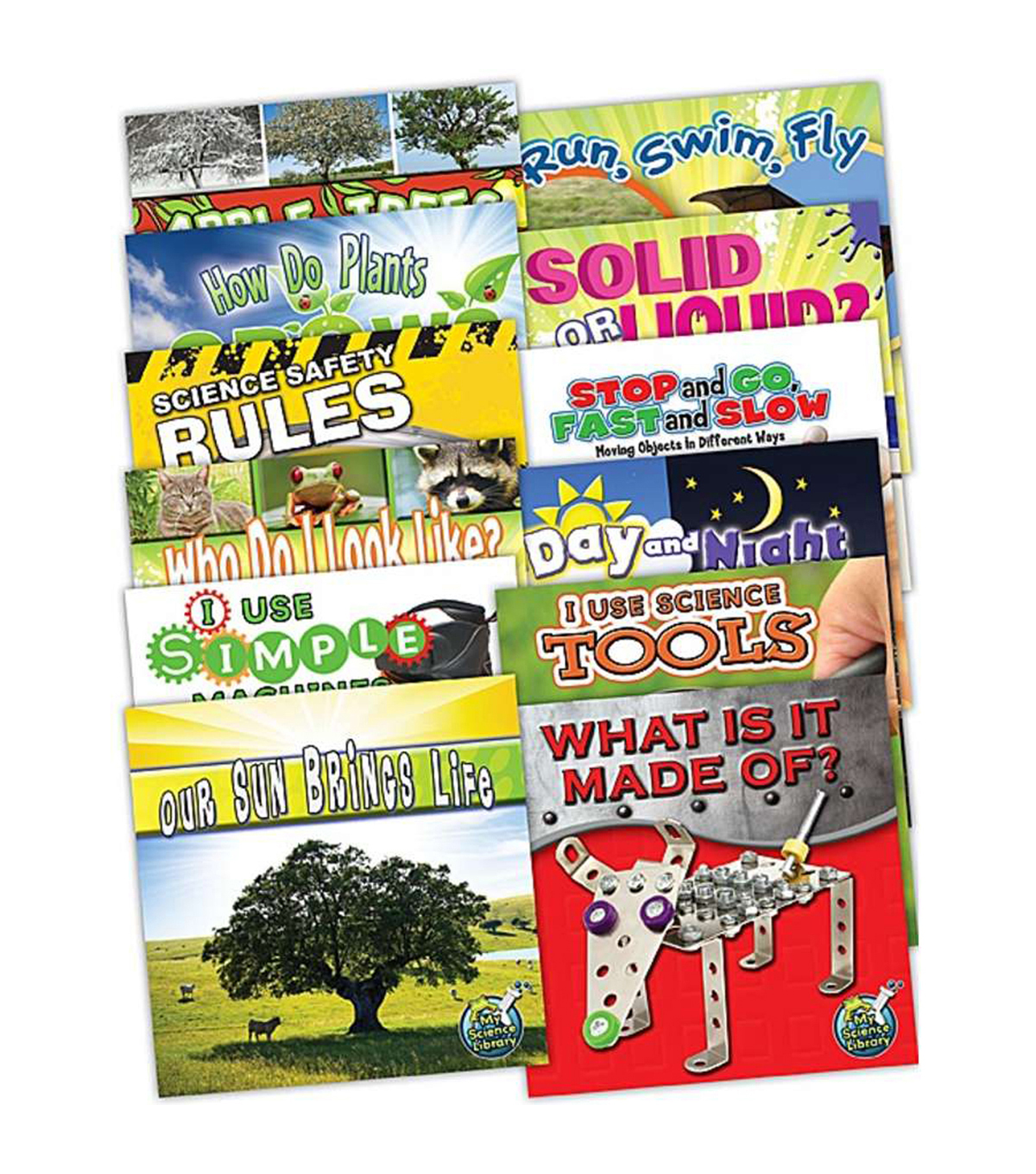 My Science Library Set, Grade K-1, Set of 12