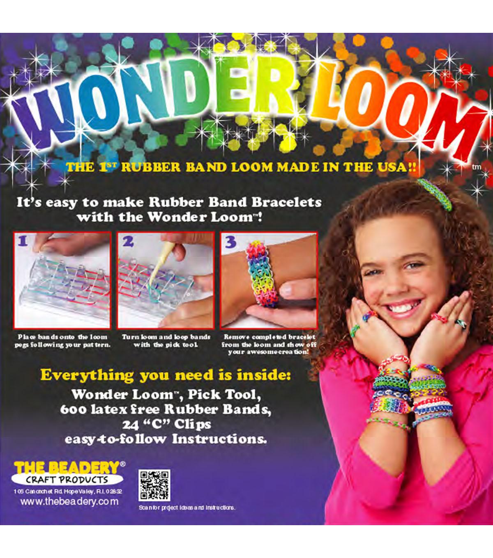 Beadery Wonder Loom Bracelet Making Kit Crafts Painting Drawing Art The Ultima